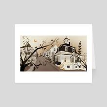 Salem 1993 - Art Card by James Jeffers
