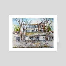 25 Dundas St. Dundas - Art Card by Danuta Niton