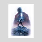 The Worthy  - Art Print by Kode Subject