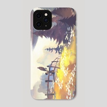 The Friendship - Phone Case by Carolyn Arcabascio