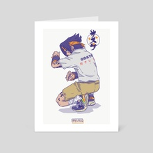 YOUNG SASUKE 1 - Art Card by GOATHE