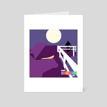 ULTRA MINIMAL - The Slim Shady LP - Art Card by Samuel Stroud