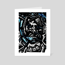 War Dudes Yolo 50 - Art Card by Daniel Newman