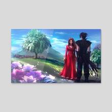 Eden - Acrylic by Stanley Barros