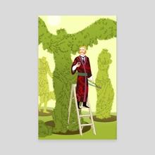 The Gardener - Canvas by Kali Ciesemier