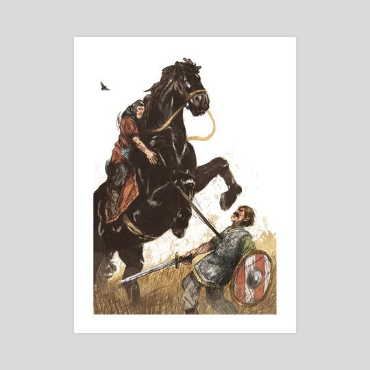 Horseman by Joe Lillington