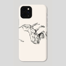 Forest Frog // Chinese Medicine - Phone Case by Daniel Ido