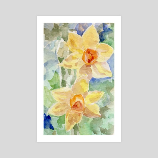 Daffodils by A T