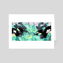 Twilit Garden - Art Card by Kim Salt