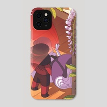 Wisteria - Phone Case by NN Chan