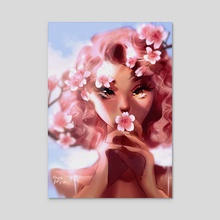 Sakura - Acrylic by Chixie