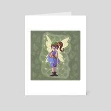 Little Fairy - Art Card by Austin Lord