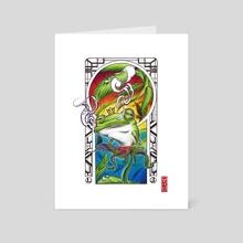 DaKing - Art Card by Marcius Cavalcanti
