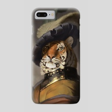Fancy Tiger - Phone Case by Matt Ramsey