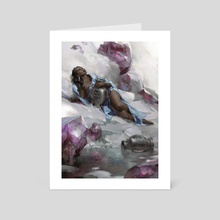 Aquarius - Art Card by Cynthia Sheppard