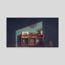 Late Evening Light - Canvas by Elias Rivet