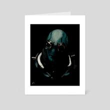 Hellboy-Abe - Art Card by Nick Rubio