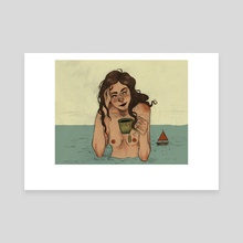 quimera I - Canvas by Carolina Prata