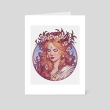 Daisy dream - Art Card by Maria Dimova