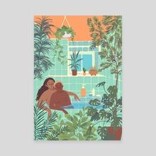 Palmira - Canvas by Ira Bala