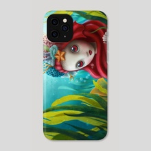 Clear Water - Phone Case by Luz Tapia