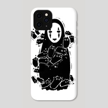 No Face - Phone Case by Valio Art