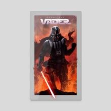 Vader - Acrylic by Gammatrap