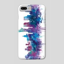New York Skyline - Phone Case by Monn Print