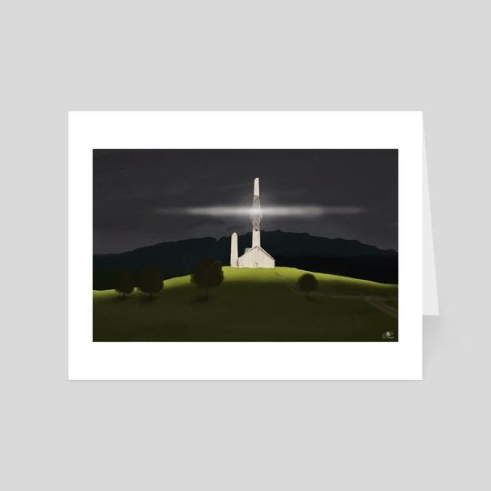 Light Of The Chapel by Ivo Brankovikj