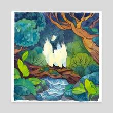Forest Spirit - Canvas by Cleonique Hilsaca