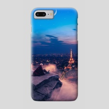 To Paris with love - Phone Case by Jared Sandoval