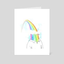 Spectrum Stroll - Art Card by Julio Cumana