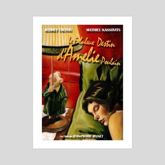 Amelie Poster by Ashley Rivardo