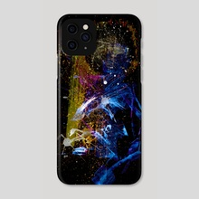 STP Screen Transfer Process - 0129 - Scatterfisure Hype - Phone Case by Wetdryvac WDV