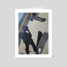 """""""Receipt"""" - Art Card by Keri Manne"""
