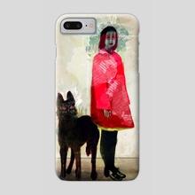 Ghost - Phone Case by Feline Zegers