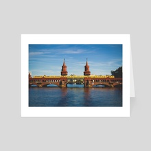 Berlin Bridge - Art Card by R Baumung