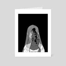 The Veil - Art Card by Oaky Deer
