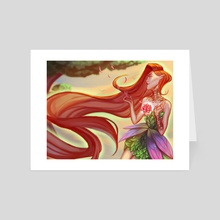 Forest Fairy - Art Card by Castonia