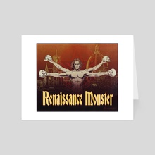 Renaissance Monster - Art Card by PM Players