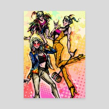 Girls Just Wanna Have Fun - Canvas by baroquegothik