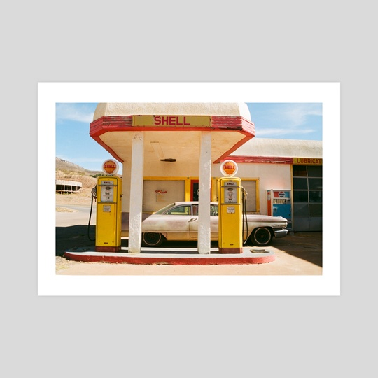 Shell Station by Chelsea Whitaker