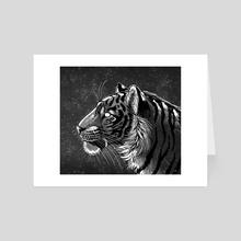 Galaxy Tiger - Art Card by Suvikuu