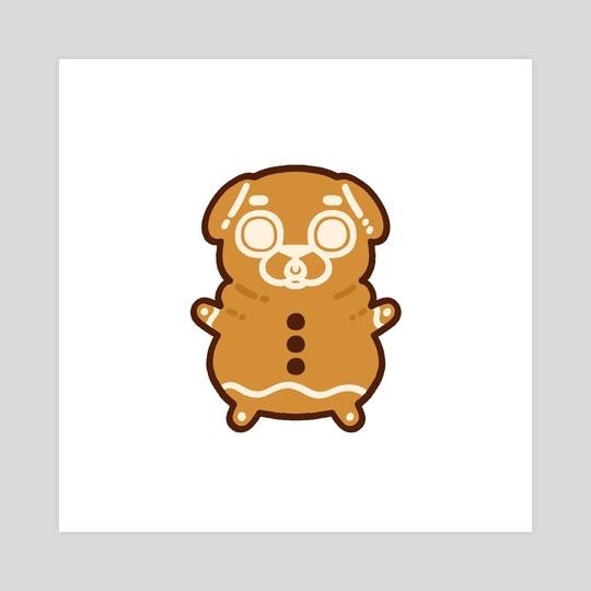 Gingerbread Puglie by Puglie Pug