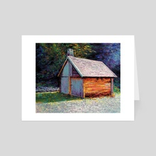 Small Cabin - Art Card by Isidor Swande