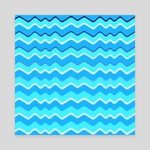 waves - Canvas by Marina Koltsova