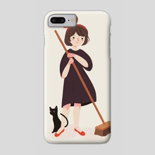 Miss Witch - Phone Case by Nan Lawson