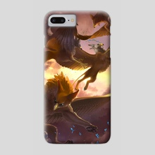 Playful Griffins - Phone Case by Melinda Vass