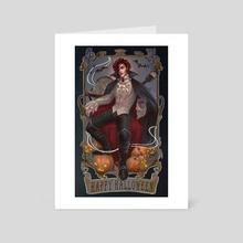 Spooky Season - Julian Devorak - Art Card by Lizzart