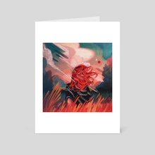 Woosh - Art Card by Sarah Gonzales